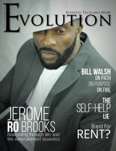 Ro Brooks Evolution Magazine Cover