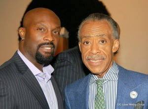 Ro Brooks and Rev. Al Sharpton