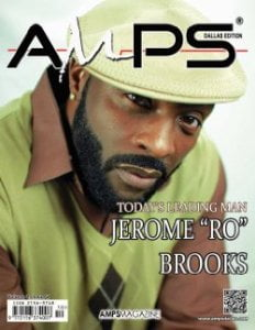 Ro Brooks on the cover of AMPS Magazine